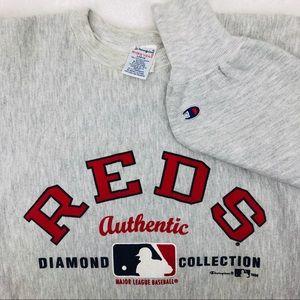Cincinnati Reds Champion Reverse Weave Sweatshirt